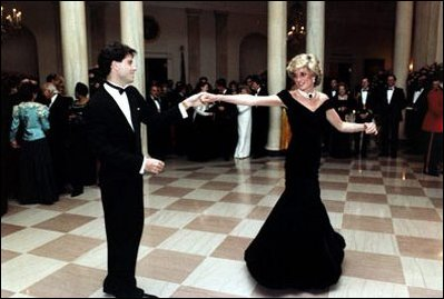 Diana and John Travolta