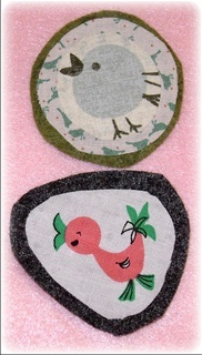 olive brooches